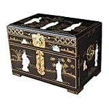 World Menagerie Mother of Pearl Jewellery Box
