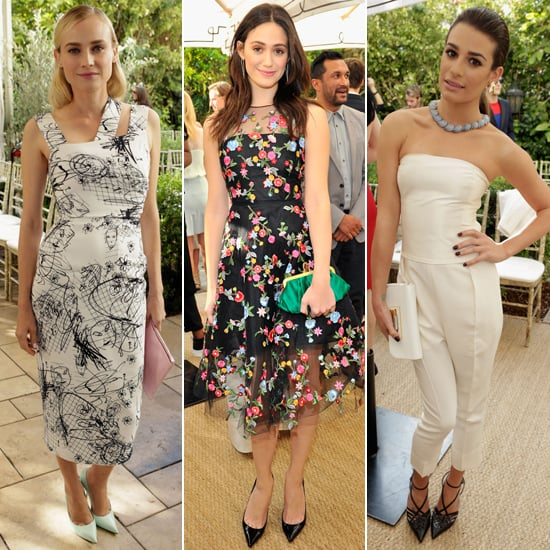 Did Diane Kruger And Lea Michele Attend Vogues Chicest Party