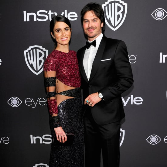 Ian Somerhalder and Nikki Reed 2017 Golden Globes Afterparty