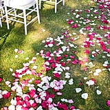 Rose petals aren't just for the honeymoon suite!