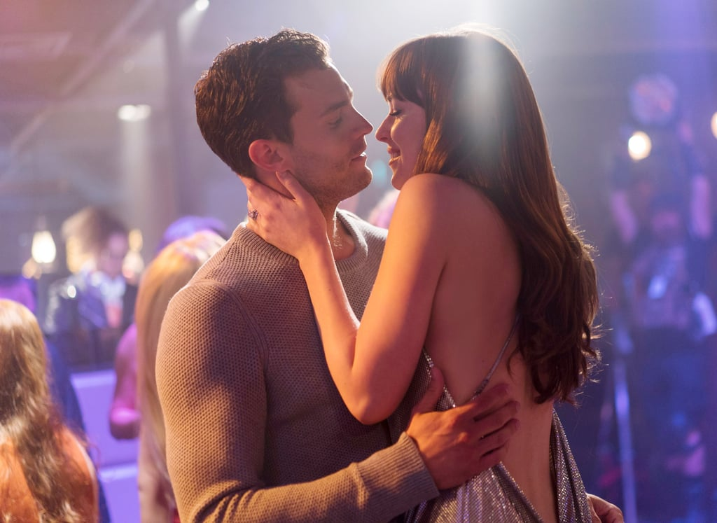 Are you excited for the release of Fifty Shades Freed? Yes? No? Well, it doesn't matter how you feel about it, because even the most anti-Fifty Shades among us will have a tough time not drooling over all these gorgeous photos from the movie. From new shots of Ana (Dakota Johnson) in her delicate lace wedding gown to some shirtless Christian Grey (Jamie Dornan) action, there's something for everyone.       Related:                                                                                                           Brace Yourself — There Will Be More Sex Than Ever Before in the New Fifty Shades Movie