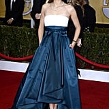 Marion Cotillard stepped onto the red carpet at the SAG Awards.