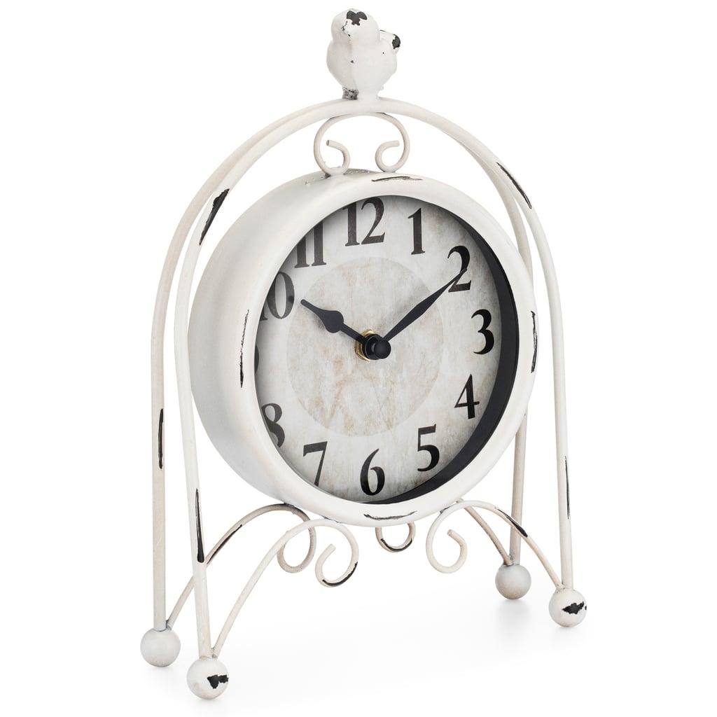 Westclox Metal Bird Table Clock