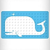 Nautical Whale Bath Mat