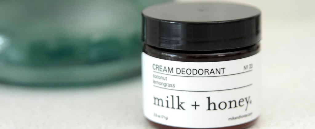 Natural Cream Deodorant From Milk + Honey Review