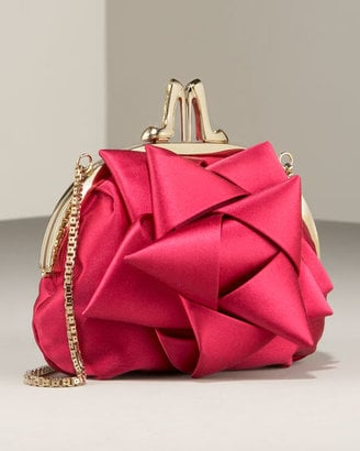 Christian Louboutin Satin Bow Kiss-Lock Clutch: Love It or Hate It?