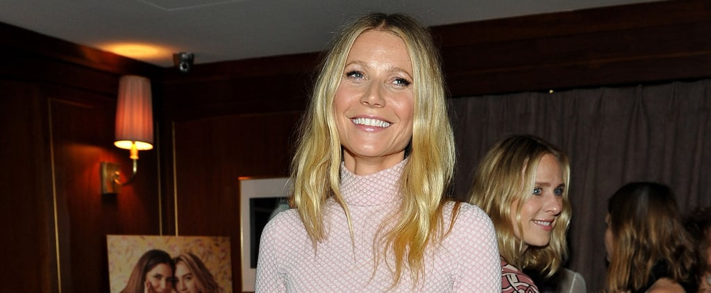 Gwyneth Paltrow Made This Outfit Look Way Sexier Than It Did on the Catwalk