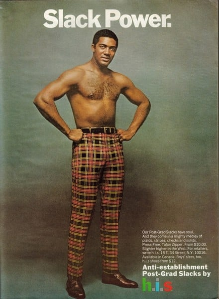 Nothing hotter than a shirtless guy in plaid pants.