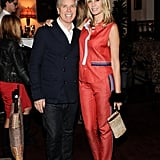 Tommy and Dee Hilfiger made a handsome pair at the designer's dinner celebrating the George Esquivel Capsule Footwear Collection.