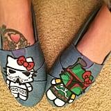 Hello Kitty Stormtrooper Kicks