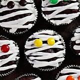 Low-Fat Mummy Cupcakes