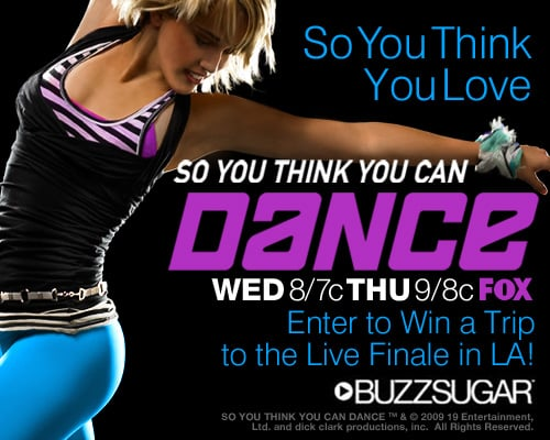 Win a Trip to the Season Five Finale of So You Think You Can Dance in Los Angeles 2009-07-01 00:00:56