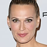 Molly Sims opted for a high ballerina bun at the second annual Baby2Baby Gala.
