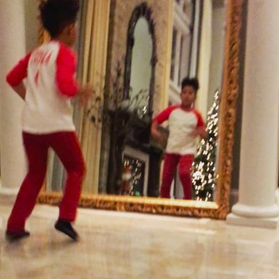 Jennifer Hudson's Son David Dancing to Michael Jackson 2016