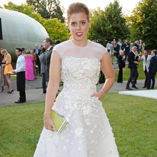 Princess Beatrice in Nicholas Oakwell at the Serpentine