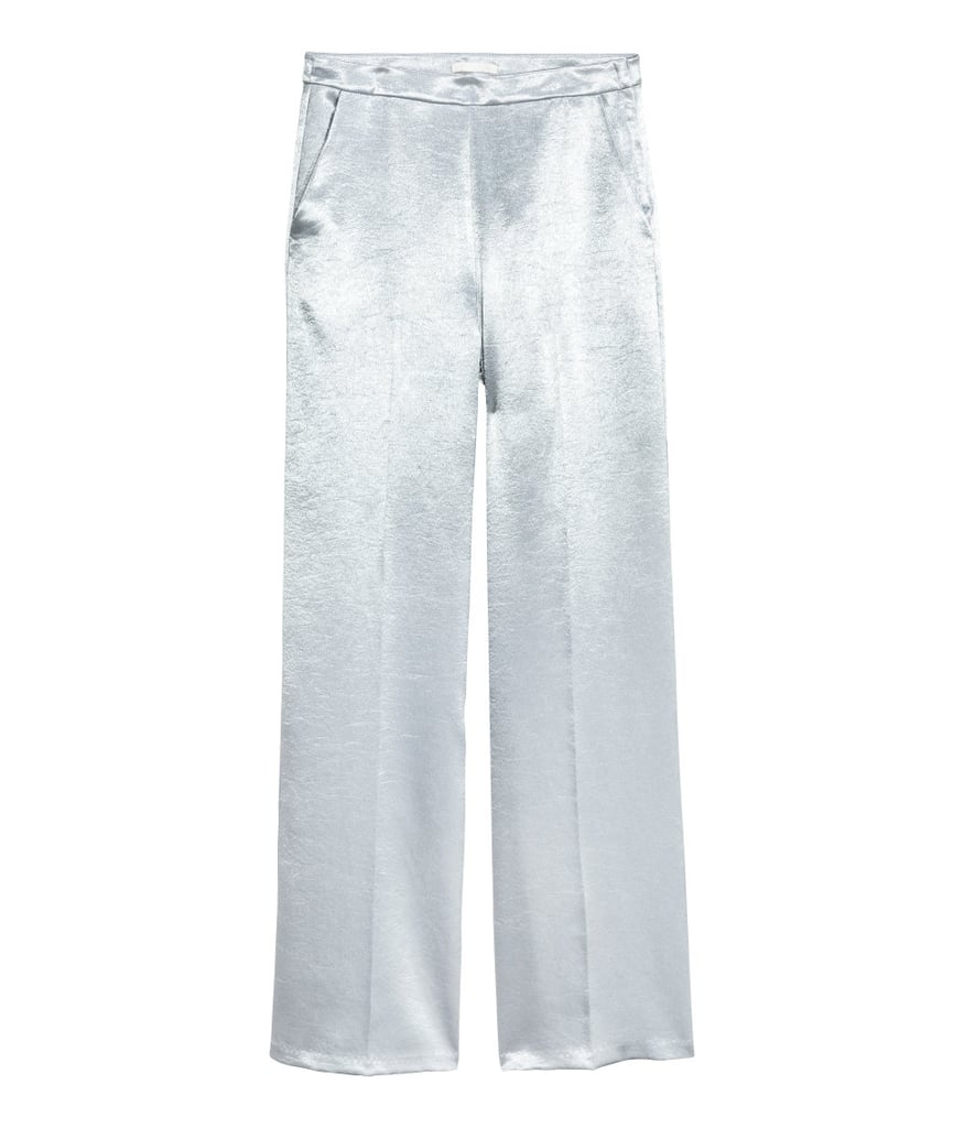 Stand out in the crowd with these H&M shiny pants ($40).