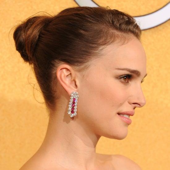 Natalie Portman's 2012 SAG Awards Hair and Makeup Look