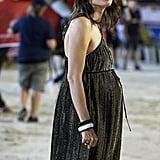 Charlotte Casiraghi's Glittering Babydoll Dress, 2018