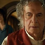 Elijah Wood and Ian Holm in The Hobbit: An Unexpected Journey.