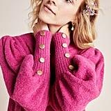 Stella Pardo Liam Button-Cuffed Sweater