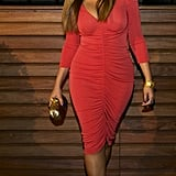 Beyonce Knowles showed off her postbaby body.