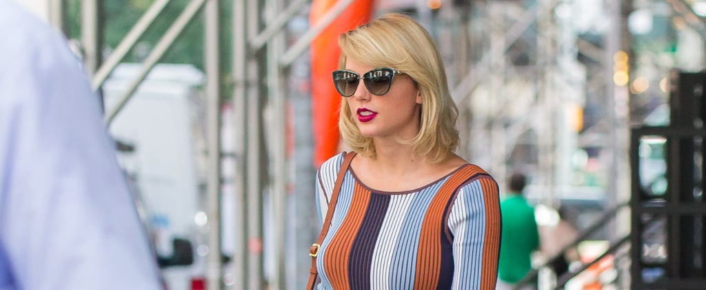 Taylor Swift's Hair May Be Getting Shorter, but Her Heels Certainly Are Not