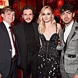 Sophie Turner, Jack Gleeson, and Joe Jonas Photo April 2019