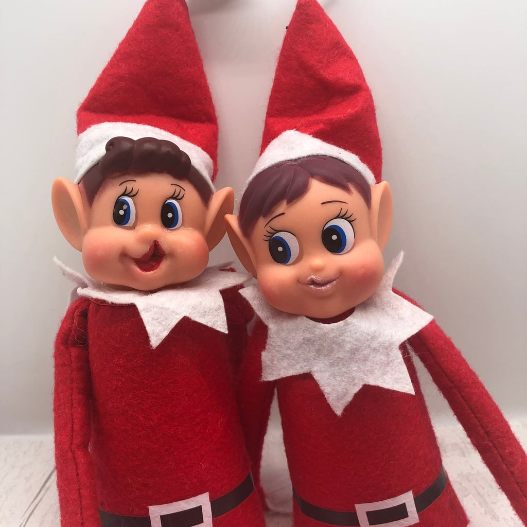 Photos of Modified Christmas Elf Dolls