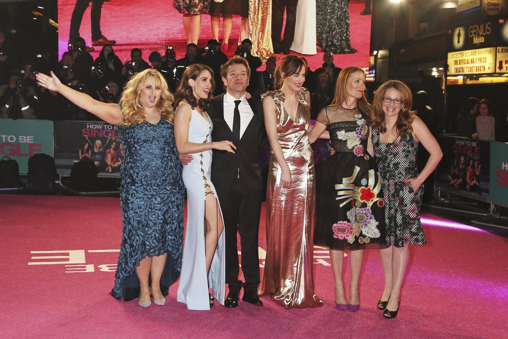 The Ladies of How to Be Single Are as Thick as Thieves at Their Big London Premiere