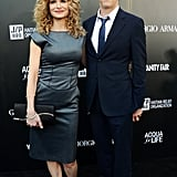 Kevin Bacon and Kyra Sedgwick walked the black carpet together.