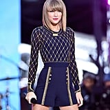 Taylor Swift took the stage in NYC on Thursday.
