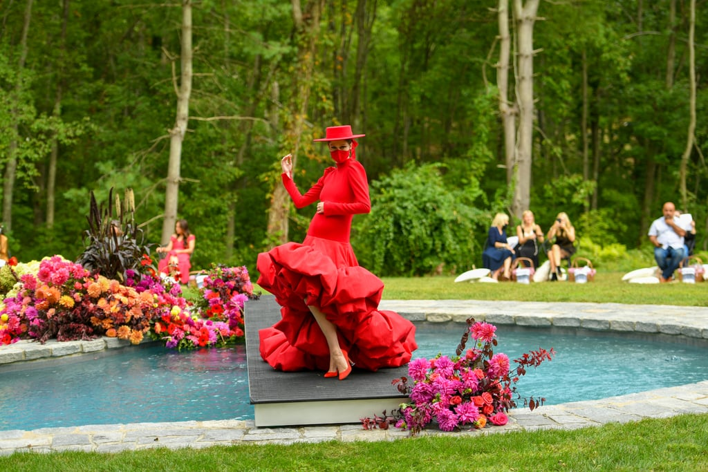 Christian Siriano's Spring 2021 Runway Show Was at His House