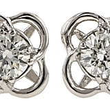 What should someone look for when shopping for diamond studs?