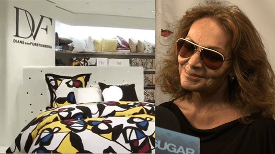 Diane von Furstenberg Launches DVF Home at Bloomingdale's