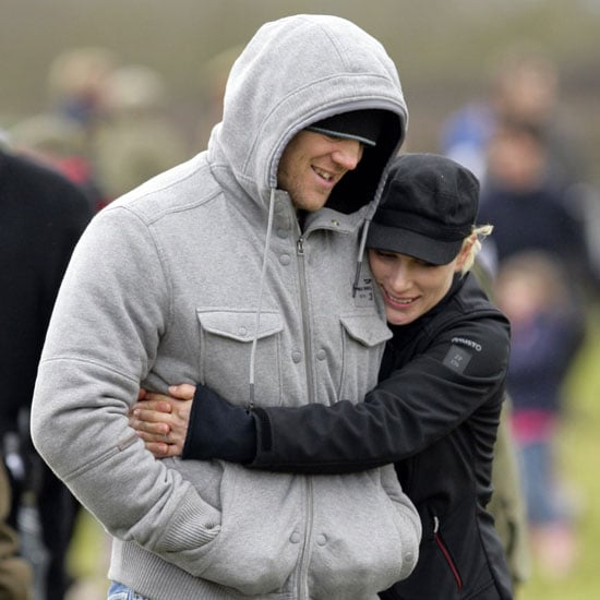 Pictures of Zara Phillips and Mike Tindall Who Set Wedding Date of 30 July 2011 at Canongate Kirk in Edinburgh