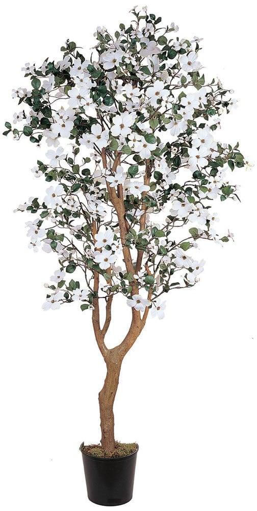 Nearly Natural Dogwood Silk Decorative Tree