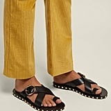 Isabel Marant Jonya Toe Ring Leather Sandals