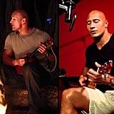 He can play the ukulele . . .