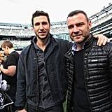 Liev and Pablo Schreiber