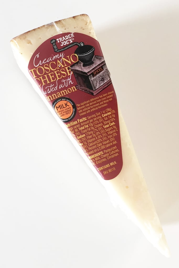 Trader Joe's Creamy Toscano Cheese Dusted With Cinnamon ($8/pound)
