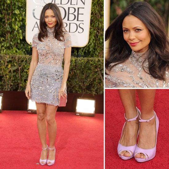 Thandie Newton | Golden Globes Red Carpet Fashion 2013
