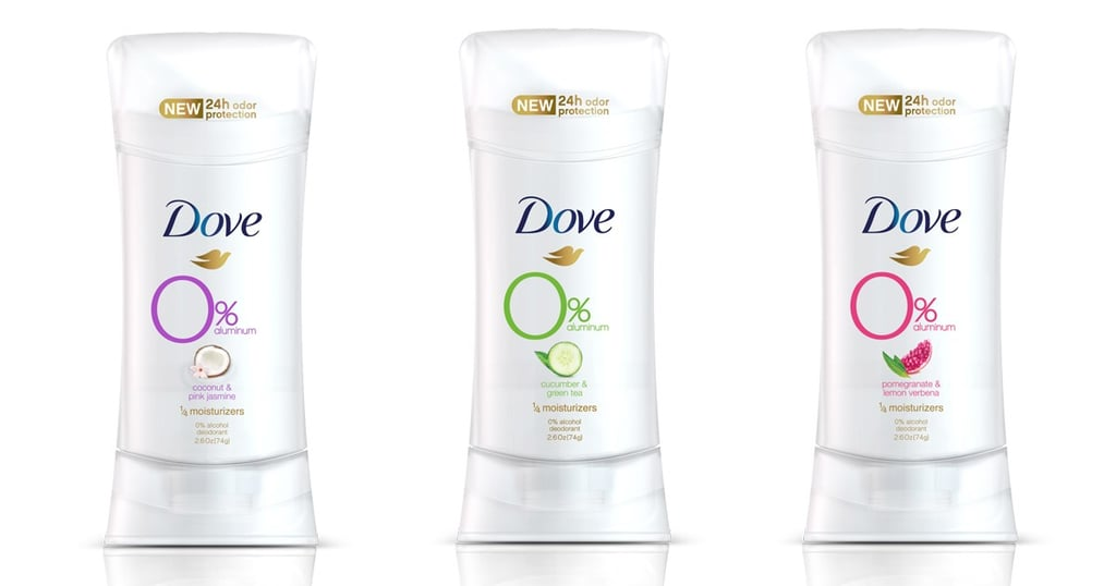 Dove Aluminum-Free Deodorant Collection 2019
