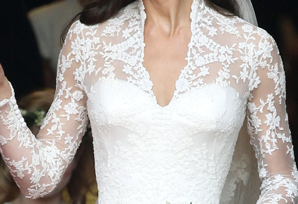 Kate Middleton\'s Wedding Dress From Every View | POPSUGAR Fashion ...