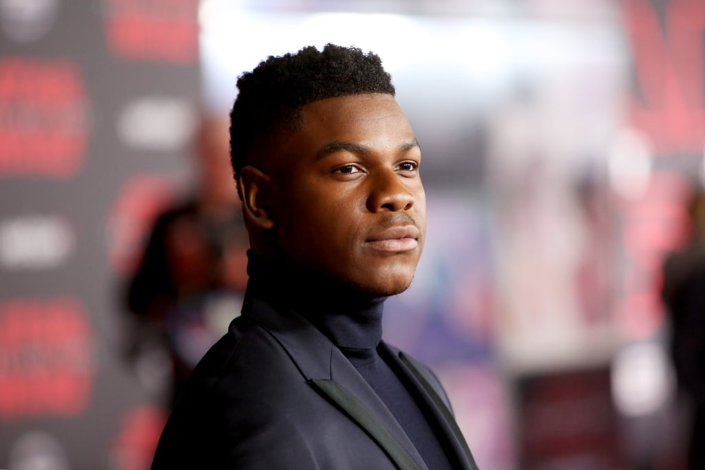 John Boyega certainly knows how to work a crowd. The 25-year-old English actor, who plays Finn in Star Wars: The Last Jedi, has stolen our hearts not only with his incredible talent but also with his contagious smile. It's a known fact that the cast is a pretty good-looking bunch, but John has a certain quality that makes him go from cute to handsome in .5 seconds. Check out some of his most swoon-worthy moments of all time!