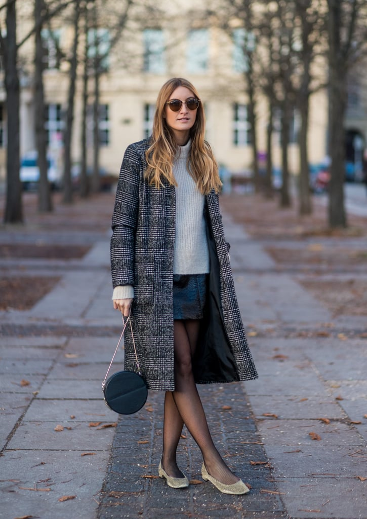 Tights and Flats Are a Foolproof Combination