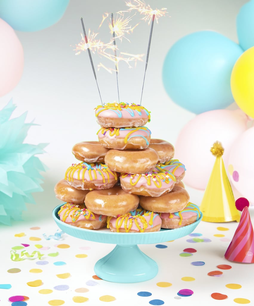 Krispy Kreme Birthday Cake Batter Filled Doughnut 2019