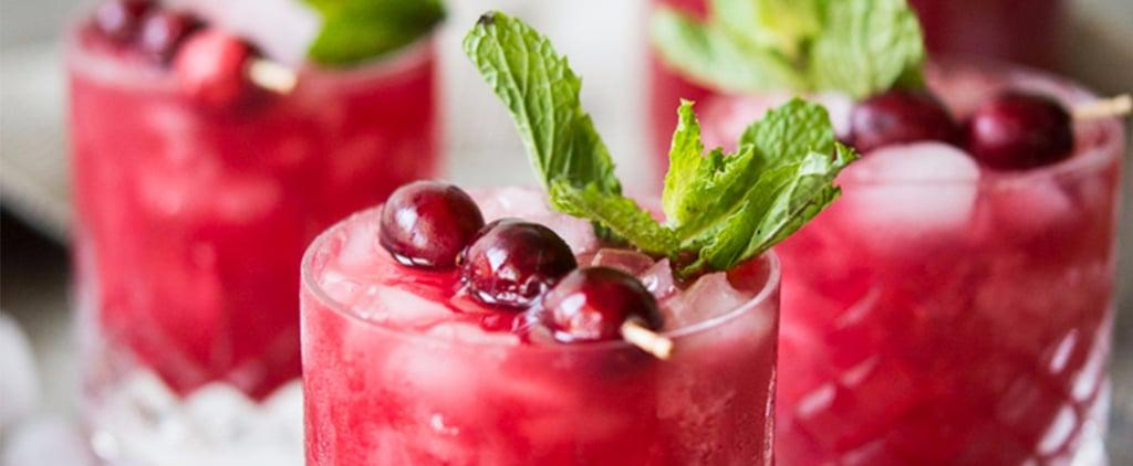 Cranberry Agua Fresca Mocktail