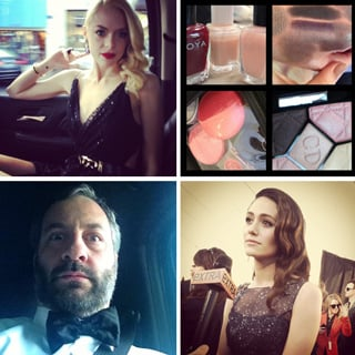 Celeb Instagram & Twitter Pictures At Critics Choice Awards
