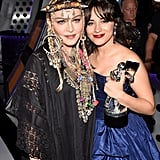 Camila Cabello and Madonna