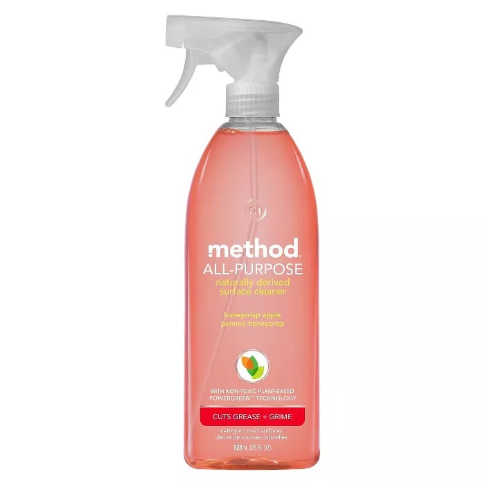 Method Cleaning Products APC Honeycrisp Apple Spray Bottle